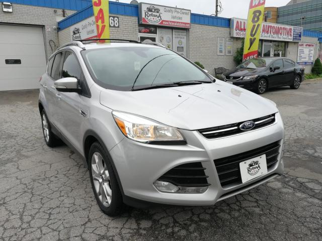 2015 Ford Escape Accident Free | AWD | Navi | Backup Cam | Sunroof