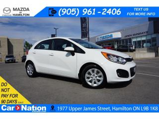 Used 2013 Kia Rio LX+ | HEATED SEATS | BLUETOOTH | XM RADIO for sale in Hamilton, ON
