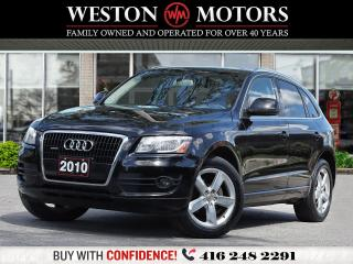 Used 2010 Audi Q5 3.2L*V6*LEATHER*PAN SUNROOF*NAVI* REV CAM!! for sale in Toronto, ON