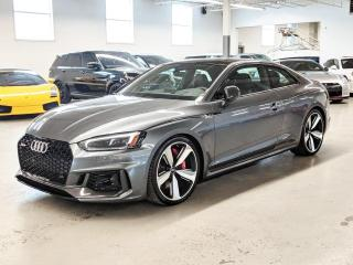 Used 2018 Audi RS 5 Coupe RS 5/ADVANCE DRIVER ASSIST PKG/CARBON OPTICS PKG/BANG&OULFSEN! for sale in Toronto, ON