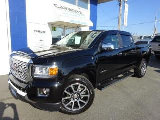 Used 2018 GMC Canyon Denali 4x4, Crew 6 Ft Box, Nav, Only 6,164 Kms for sale in Langley, BC