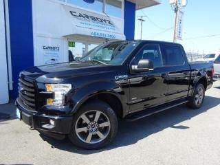 Used 2016 Ford F-150 Sport 4x4, Crew, Nav, 302A Pkg, Sensors, Camera for sale in Langley, BC
