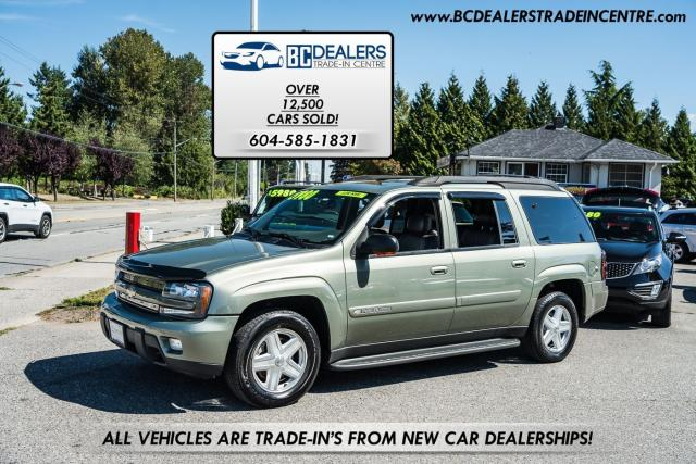 2003 Chevrolet TrailBlazer LT, Leather, Sunroof, Only 139k, Local + Loaded!