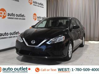 Used 2016 Nissan Sentra Sv, 1.8L I4, Fwd, Cloth seats, Heated seats, Backup camera for sale in Edmonton, AB