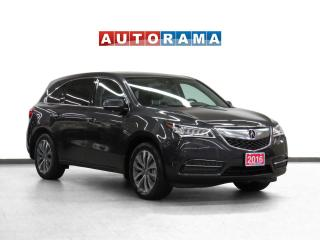 Used 2016 Acura MDX Tech Pkg 4WD Navi Leather Sunroof BCam 7 Passenger for sale in Toronto, ON