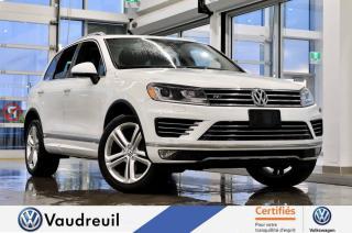 Used 2015 Volkswagen Touareg Highline * R-LINE *** Réservé *** for sale in Vaudreuil-Dorion, QC