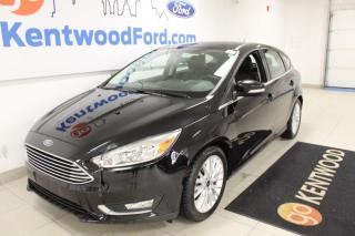 Used 2018 Ford Focus 3 mos Deferral *oac | Heated Leather Buckets | Sunroof | hatch | FUN FUN! for sale in Edmonton, AB