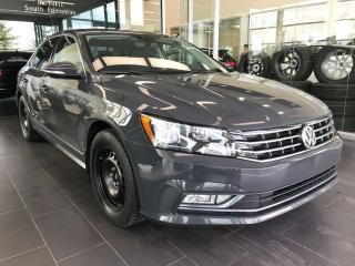 Used 2016 Volkswagen Passat COMFORTLINE, ACCIDENT FREE, KEYLESS IGNITION, POWER HEATED LEATHER SEATS for sale in Edmonton, AB