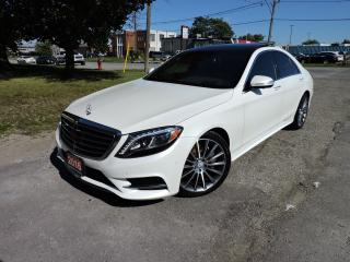 Used 2016 Mercedes-Benz S550 4MATIC Navigation/Panoroof/4Matic/MassageSeats for sale in BRAMPTON, ON