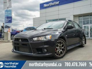 Used 2014 Mitsubishi Lancer Evolution MR AWD/AUTO/STOCK/RARE/LOWKMS/LEATHER/SUNROOF for sale in Edmonton, AB