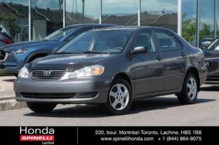 Used 2005 Toyota Corolla CE AUTO BAS KM AUTO BAS KM PAS DE AC for sale in Lachine, QC