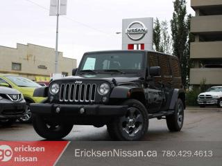 Used 2018 Jeep Wrangler JK Unlimited Sahara Unlimited l 4x4 l Hardtop l Like new! for sale in Edmonton, AB