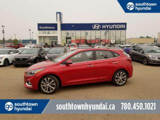 New 2020 Hyundai Accent Ultimate - 1.6L Push Button, Sunroof, Forward Collision Avoidance/Warning, for sale in Edmonton, AB