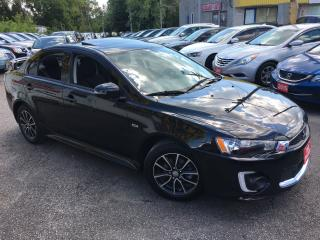 Used 2017 Mitsubishi Lancer SE LTD/ AUTO/ SUNROOF/ CAMERA/ ALLOYS/ LOADED! for sale in Scarborough, ON