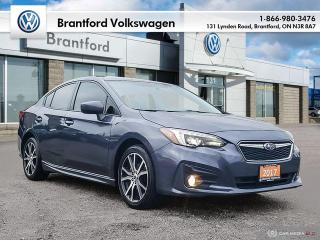 Used 2017 Subaru Impreza 4Dr Sport CVT for sale in Brantford, ON