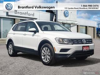 Used 2019 Volkswagen Tiguan Trendline 2.0 8sp at w/Tip 4M for sale in Brantford, ON