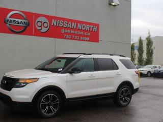 Used 2015 Ford Explorer Sport/4WD/LEATHER/PANO ROOF for sale in Edmonton, AB