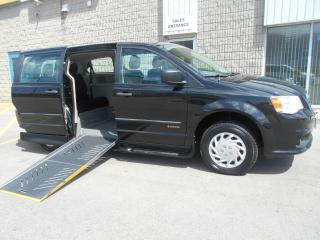 Used 2013 Dodge Grand Caravan SE-Wheelchair Accessible Side Entry-Manual SC for sale in London, ON
