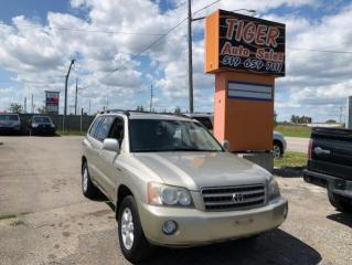 Used 2003 Toyota Highlander LIMITED**LEATHER**SUNROOF**4X4**ONLY 219KM**AS IS for sale in London, ON