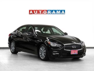 Used 2016 Infiniti Q50 3.0T AWD Navigation Leather Sunroof Backup Cam for sale in Toronto, ON