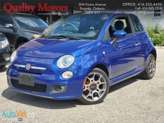 Used 2012 Fiat 500 Sport for sale in Etobicoke, ON
