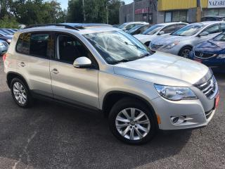 Used 2009 Volkswagen Tiguan AWD/ SUNROOF/ ALLOYS/ FOG LIGHTS/ LOADED! for sale in Scarborough, ON