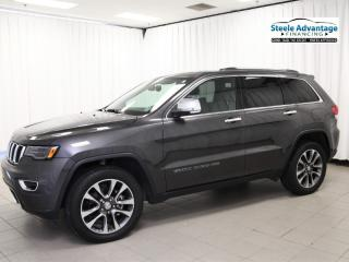 Used 2018 Jeep Grand Cherokee Limited - Panoramic Roof, Leather and Legendary Jeep Quality! for sale in Dartmouth, NS
