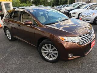 Used 2010 Toyota Venza AWD/ LEATHER/ SUNROOF/ ALLOYS/ PWR GROUP/ LOADED! for sale in Scarborough, ON