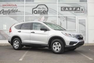 Used 2015 Honda CR-V LX ***GARANTIE 10 ANS/200 000 KM for sale in Québec, QC