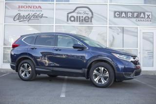 Used 2017 Honda CR-V LX AWD ***GARANTIE GLOBALE JUSQU'EN MAI for sale in Québec, QC