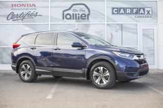 Used 2017 Honda CR-V LX AWD ***GARANTIE GLOBALE JUSQU'EN AVRI for sale in Québec, QC