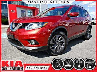 Used 2016 Nissan Rogue SL AWD ** NAVI / CUIR / TOIT for sale in St-Hyacinthe, QC