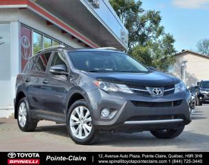 Used 2015 Toyota RAV4 ***RÉSERVÉ***LIMITED for sale in Pointe-Claire, QC
