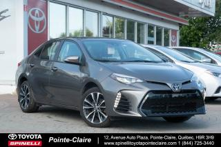 Used 2017 Toyota Corolla ***RÉSERVÉ ***SE UPGRADE PKG for sale in Pointe-Claire, QC