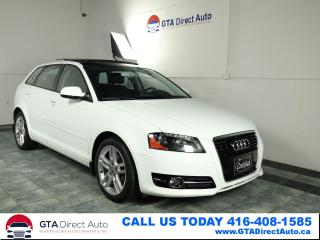 Used 2012 Audi A3 TDI Progressiv Panoroof Leather S-Tronic Certified for sale in Toronto, ON