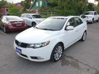 Used 2010 Kia Forte SX for sale in Brampton, ON