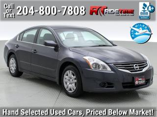 Used 2012 Nissan Altima 2.5 S for sale in Winnipeg, MB