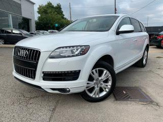 Used 2015 Audi Q7 *BACK-UP CAMERA*LEATHER*NAVI* AWD*MEMORY SEAT*PANORAMA ROOF*HEATED SEATS*DRIVER AND PASSENGER**POWER for sale in London, ON