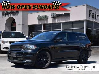 Used 2018 Dodge Durango R/T l RED LEATHER l SUNROOF l TOW PKG l for sale in Burlington, ON