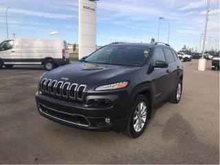 Used 2016 Jeep Cherokee LIMITED 4X4, LUXURY GROUP, TOW PKG, NAVIGATION for sale in Fort Saskatchewan, AB
