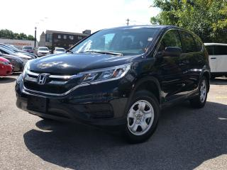 Used 2015 Honda CR-V LX, one owner, excellent condition for sale in Toronto, ON