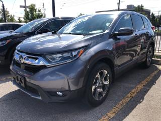Used 2017 Honda CR-V EX-L, one owner, clen carproof report for sale in Toronto, ON