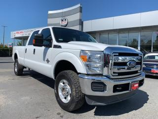 Used 2011 Ford F-350 XLT CREW LONG BOX DIESEL 4WD TUNED DELETED 172KM for sale in Langley, BC