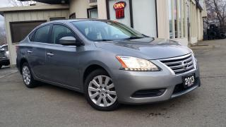 Used 2013 Nissan Sentra S - Bluetooth for sale in Kitchener, ON