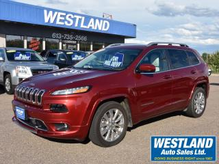 Used 2016 Jeep Cherokee OVERLAND for sale in Pembroke, ON