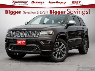 Used 2017 Jeep Grand Cherokee GRAND CHEROKEE OVERLAND 4X4, Jeep Active Safety Gr for sale in Etobicoke, ON