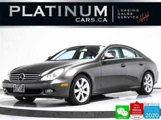 Used 2008 Mercedes-Benz CLS-Class CLS550, 382HP,  NAV, HARMAN KARDON, VENTILATED, BT for sale in Toronto, ON