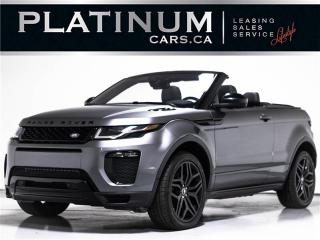 Used 2017 Land Rover Evoque HSE DYNAMIC, CONVERTIBLE, NAVI, VERY RARE, CAMERA for sale in Toronto, ON
