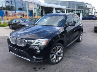 Used 2015 BMW X3 Xdrive 28i, NAVI, PANO, Heated SEATS, BT, Camera for sale in Toronto, ON
