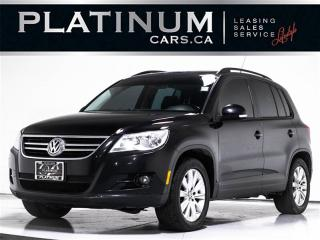 Used 2010 Volkswagen Tiguan SE 4Motion, BLUETOOTH, PANO, Heated Seats for sale in Toronto, ON